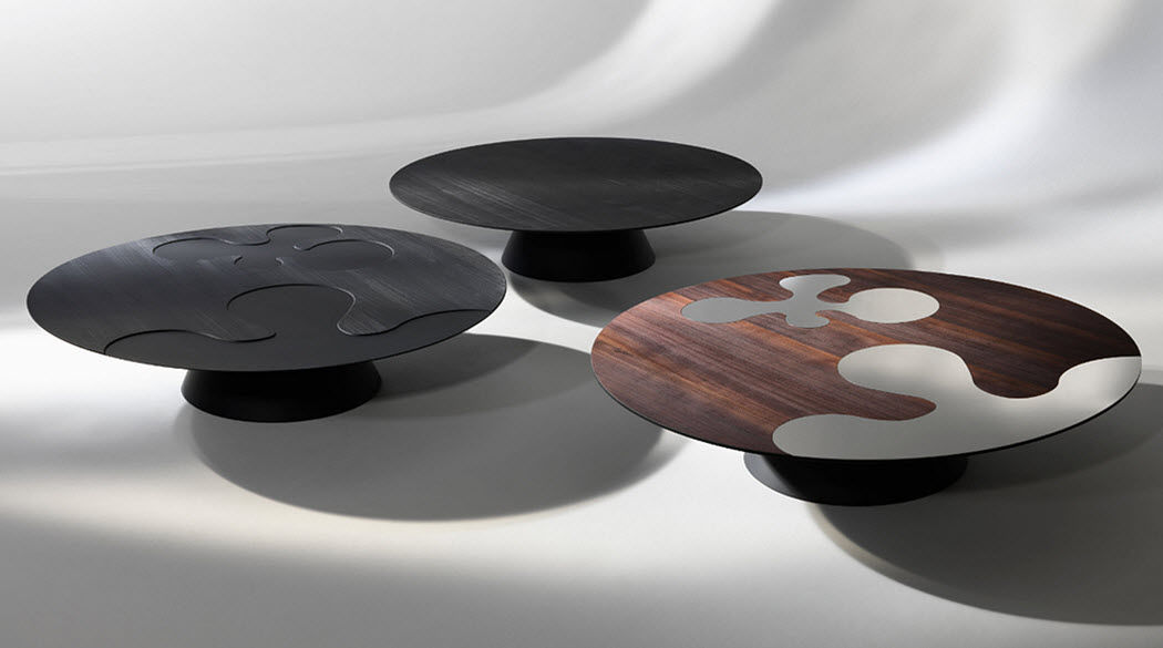ALBEDO Table basse ronde Tables basses Tables & divers  |