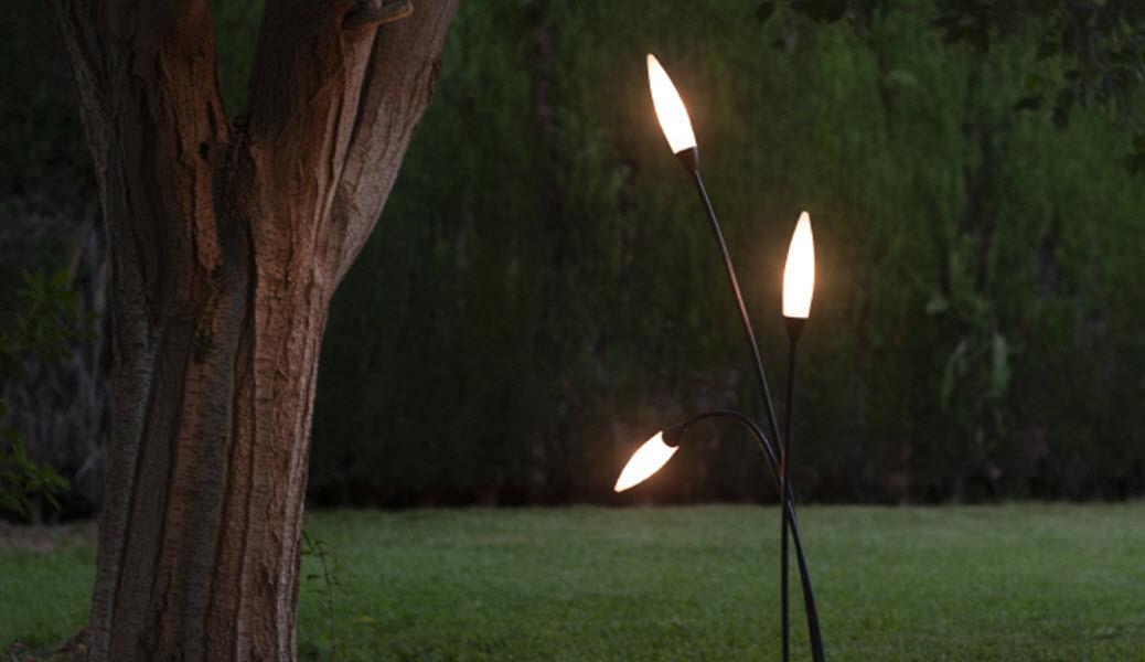 MANTRA Lampadaire de jardin Réverbères lampadaires Luminaires Extérieur  |