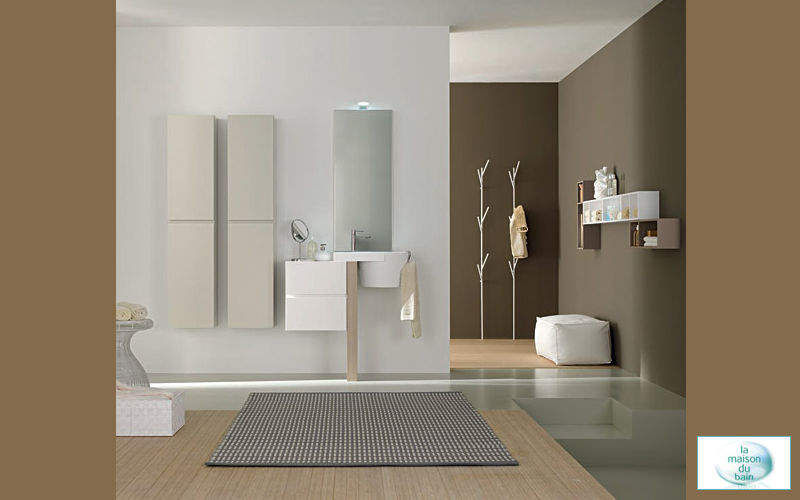 Contemporain salle de bain pictures to pin on pinterest - Salle de bains contemporaine ...