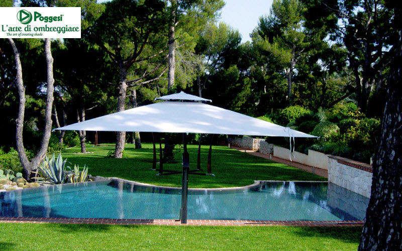 POGGESI Parasol Parasols Tonnelles Jardin Mobilier Jardin-Piscine | Classique