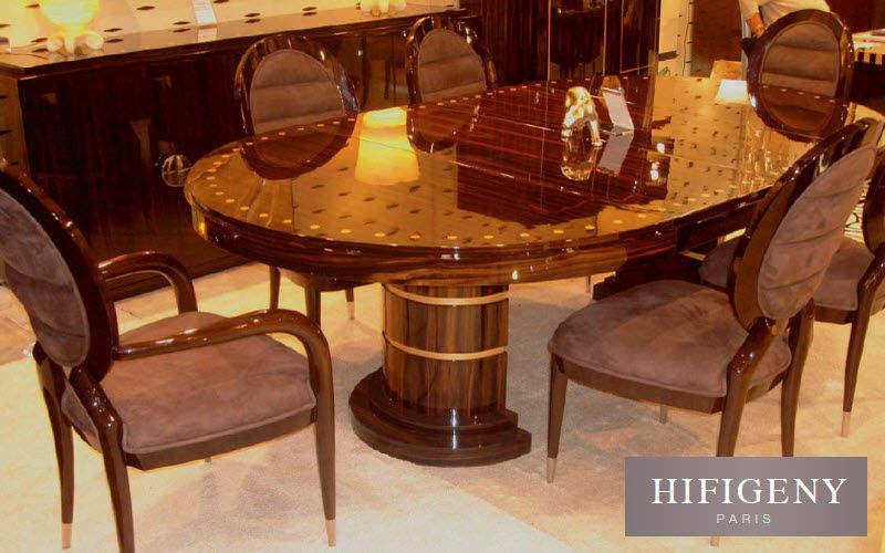 Hifigeny Table de repas ovale Tables de repas Tables & divers Salle à manger | Classique