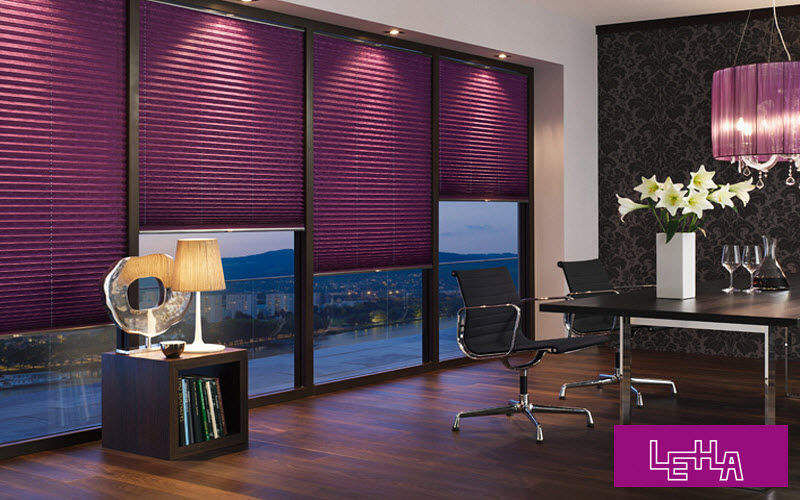 LEHA Store plissé Stores Tissus Rideaux Passementerie Lieu de travail | Design Contemporain