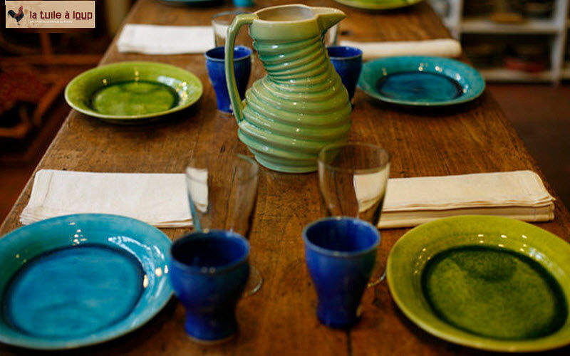 La Tuile A Loup Service de table Services de table Vaisselle Salle à manger | Charme