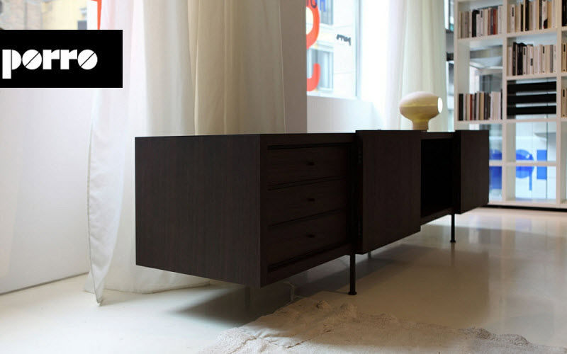 Porro Enfilade Bahuts Buffets Meubles de salon Rangements  | Design Contemporain