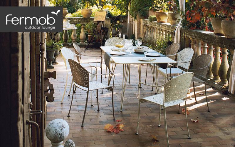 Fermob Salle à manger de jardin Tables de jardin Jardin Mobilier Terrasse | Charme