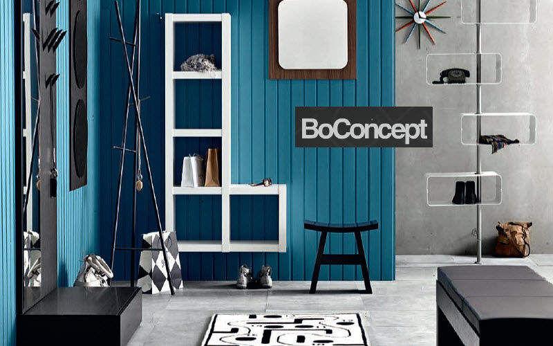 BoConcept France Etagère murale multiple Etagères Rangements Entrée | Design Contemporain