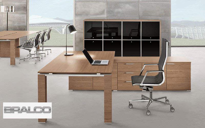 BRALCO Bureau de direction Bureaux et Tables Bureau Lieu de travail | Design Contemporain
