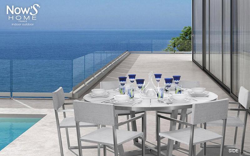 Now's Home Salle à manger de jardin Tables de jardin Jardin Mobilier  |
