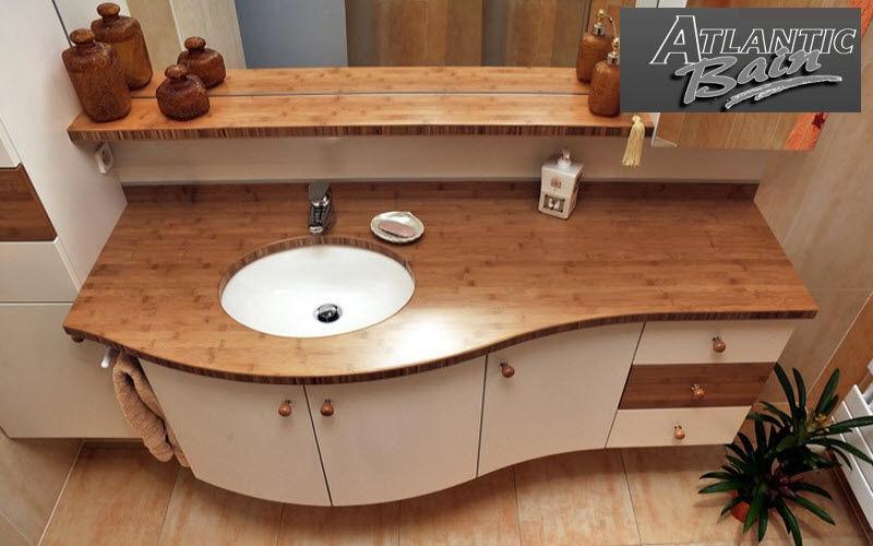 Atlantic Bain Meuble vasque Meubles de salle de bains Bain Sanitaires Salle de bains   Design Contemporain