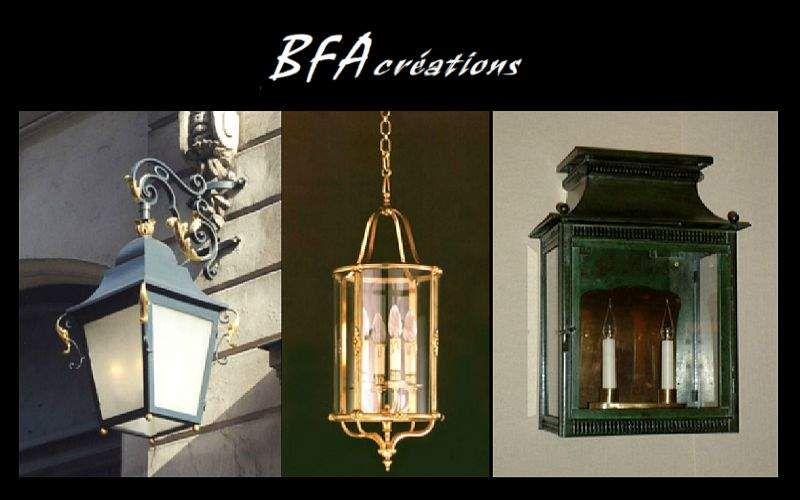 BFA créations Lanterne d'extérieur Lanternes d'extérieur Luminaires Extérieur Entrée | Classique