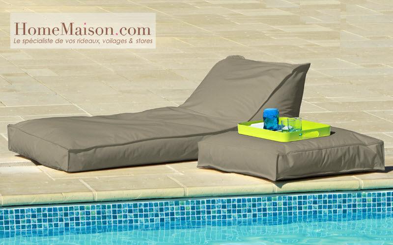 HOMEMAISON.COM Bain de soleil Chaises longues Jardin Mobilier  |