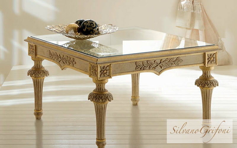 Silvano Grifoni Table basse carrée Tables basses Tables & divers  | Classique