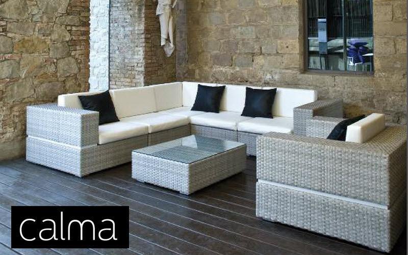 CALMA Salon de jardin Salons complets Jardin Mobilier Terrasse | Design Contemporain