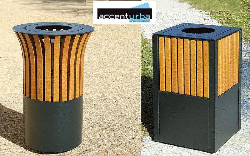 ACCENTURBA Poubelle urbaine Mobilier urbain Extérieur Divers  |