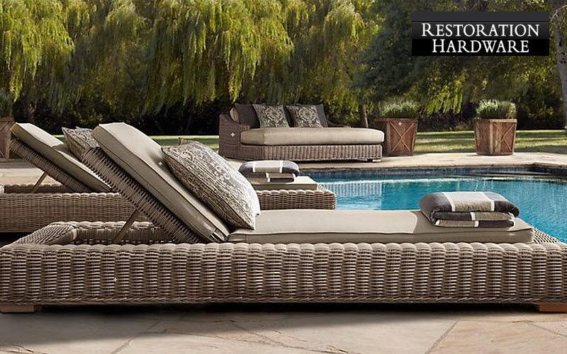 RESTORATION HARDWARE Bain de soleil Chaises longues Jardin Mobilier Jardin-Piscine   Design Contemporain