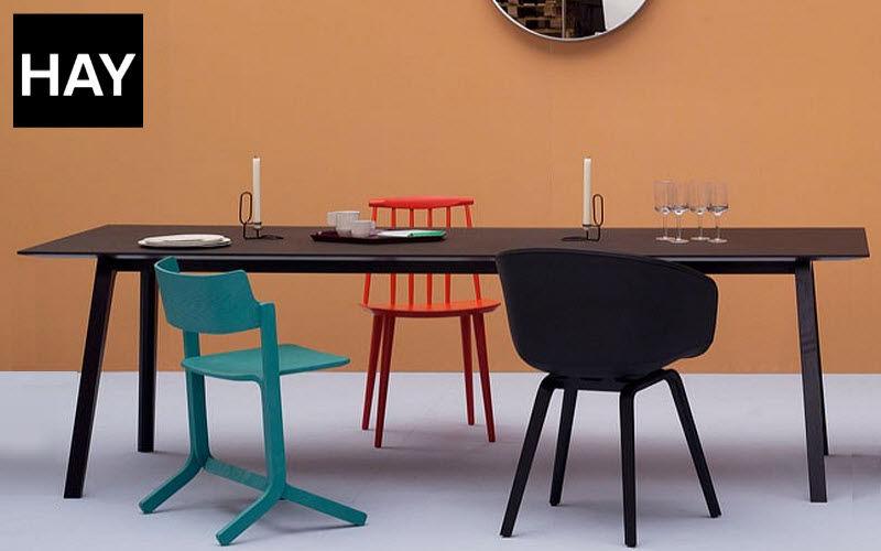 Hay Table bureau Bureaux et Tables Bureau Lieu de travail   Design Contemporain