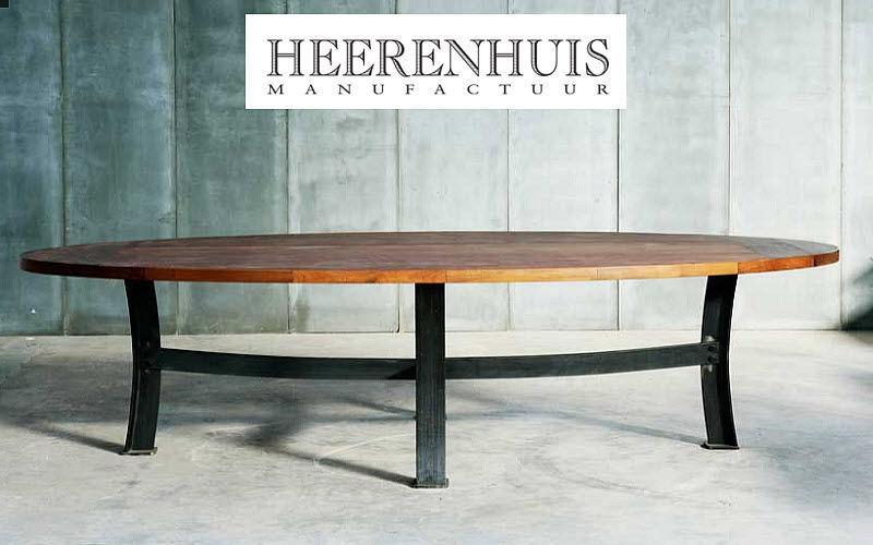 Table de repas ovale tables de repas decofinder - Grande table ovale ...