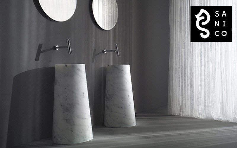 SANICO Lavabo sur piétement Vasques et lavabos Bain Sanitaires Salle de bains |