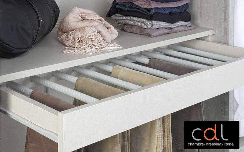 CDL Chambre-dressing-literie.com Porte-pantalons Dressing accessoires Rangement Dressing  |