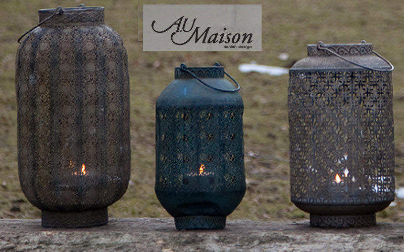 AU MAISON & EJA INTERNATIONAL Lanterne d'extérieur Lanternes d'extérieur Luminaires Extérieur  | Ailleurs