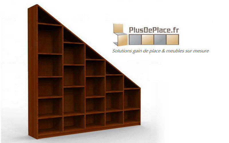 Meuble sous pente placards decofinder for Meuble sous pente