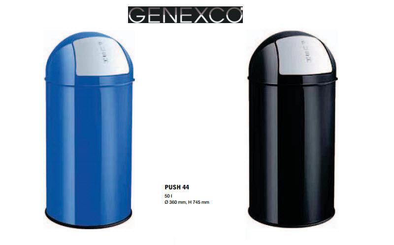 Genexco Corbeille à papier Fournitures de bureau Papeterie Accessoires de bureau  |