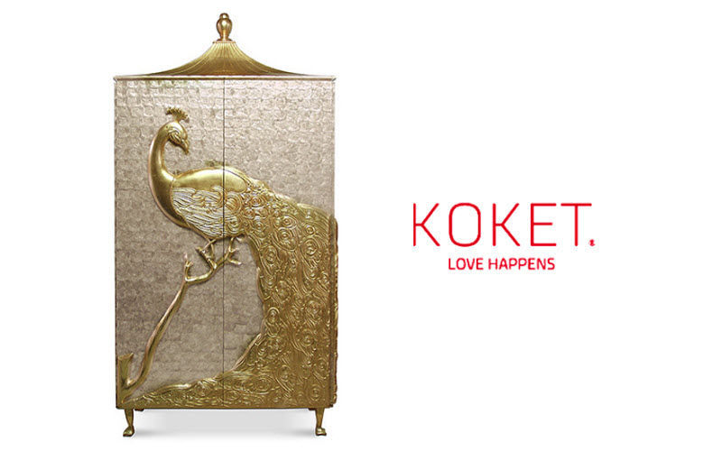KOKET LOVE HAPPENS Cabinet Bahuts Buffets Meubles de salon Rangements  |