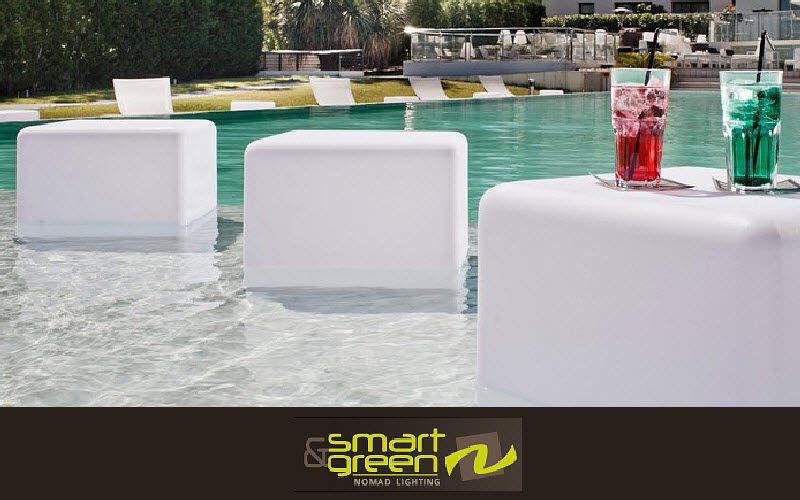 SMART AND GREEN Table basse de jardin Tables de jardin Jardin Mobilier   