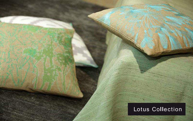 Lotus Collection Housse de coussin Coussins Oreillers Linge de Maison  |