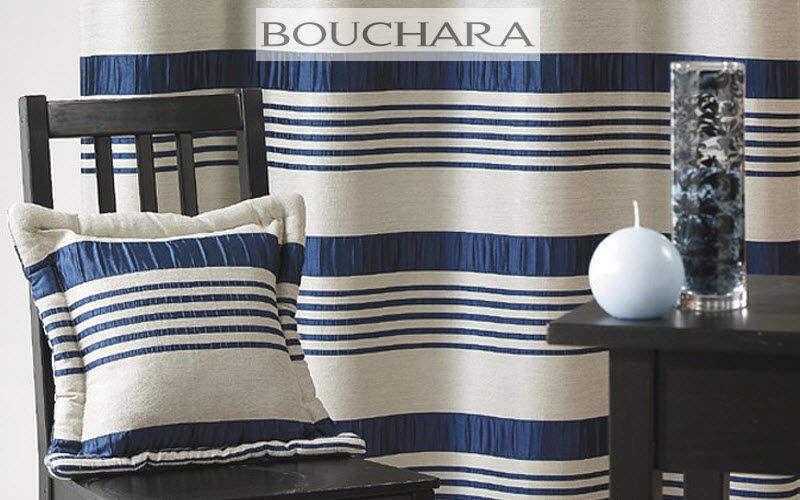 Bouchara Rayure Tissus d'ameublement Tissus Rideaux Passementerie  | Bord de mer