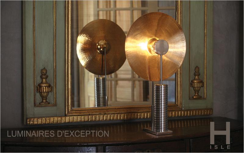 HISLE Lampe à poser Lampes Luminaires Intérieur Salon-Bar | Design Contemporain