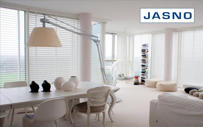 Jasno Shutters Store vénitien Stores Tissus Rideaux Passementerie Salle à manger | Charme