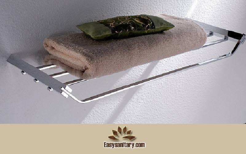 EASY SANITARY Porte-serviettes étagère Accessoires de salle de bains Bain Sanitaires  |