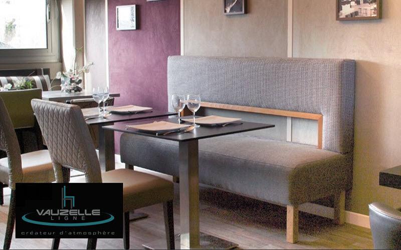 banquette de restaurant banquettes decofinder. Black Bedroom Furniture Sets. Home Design Ideas