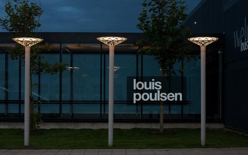 Louis Poulsen Lampadaire de jardin Réverbères lampadaires Luminaires Extérieur  |