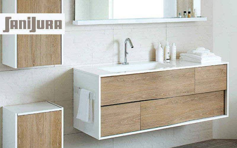 Sanijura Meuble vasque Meubles de salle de bains Bain Sanitaires   