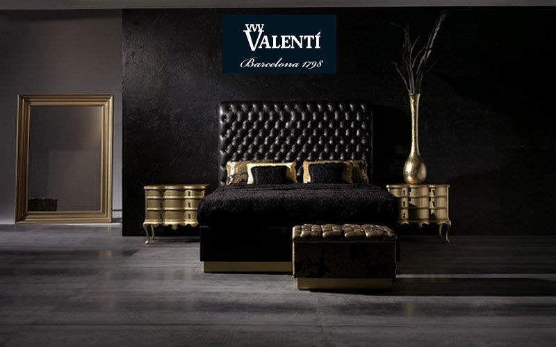 Valenti Chambre Chambres à coucher Lit Chambre | Design Contemporain