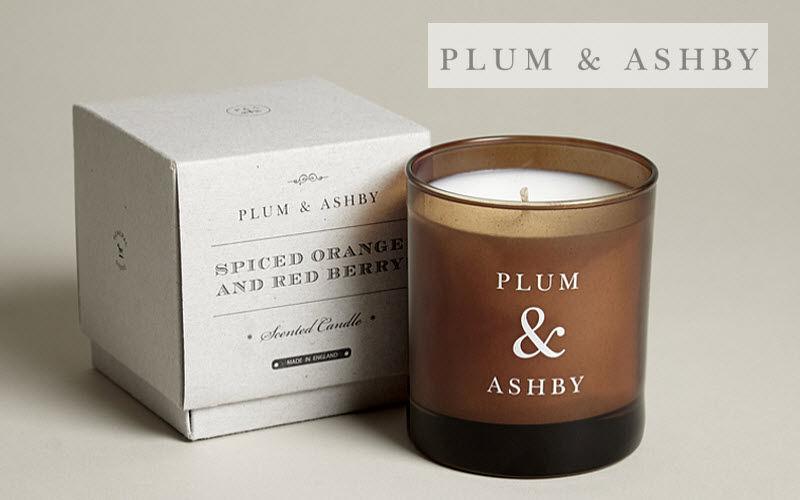 PLUM & ASHBY Bougie parfumée Senteurs Fleurs et Senteurs  |