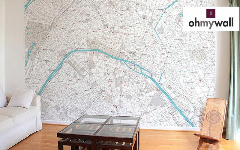 Ohmywall Papier peint panoramique Papiers peints Murs & Plafonds  |