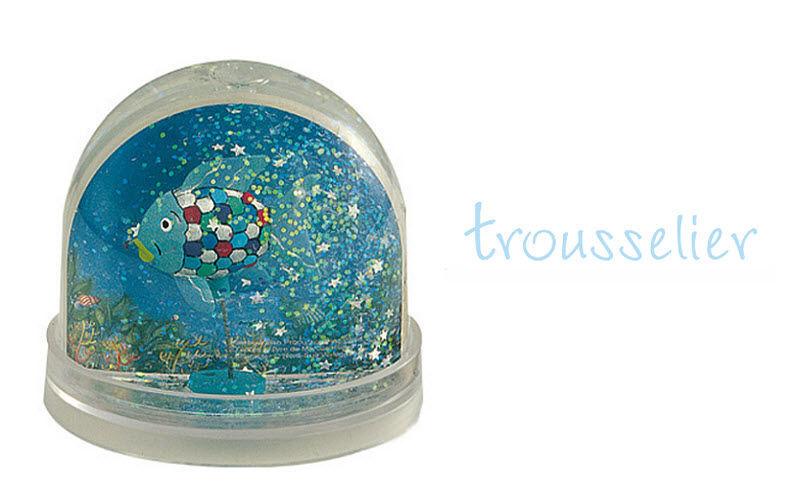 TROUSSELIER ET BASS&BASS Boule à neige Boules Objets décoratifs   
