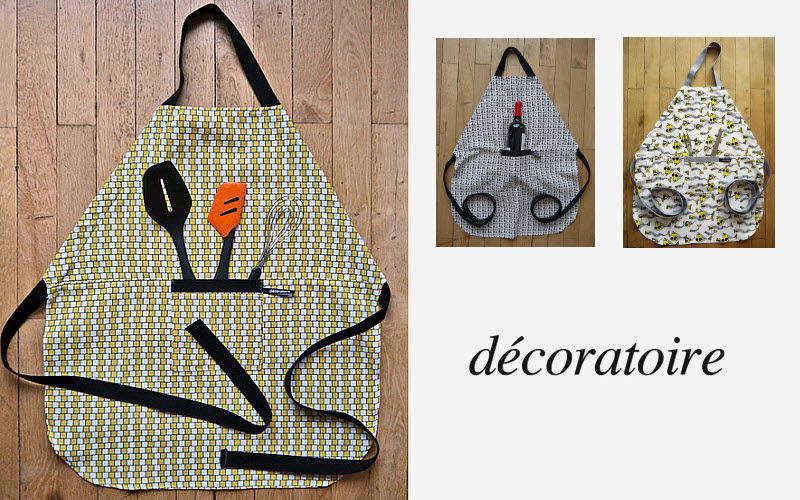 DECORATOIRE Tablier de cuisine Textile Cuisine Accessoires  |