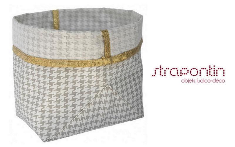 STRAPONTIN Corbeille de rangement Boites et caisses Rangement Dressing  |