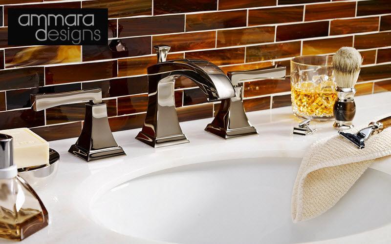 AMMARA DESIGN Mélangeur lavabo 3 trous Robinetterie Bain Sanitaires  |