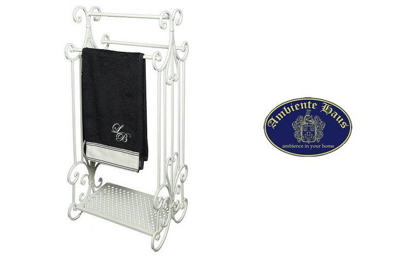 Ambiente Porte-serviettes sur pied Accessoires de salle de bains Bain Sanitaires  | Charme