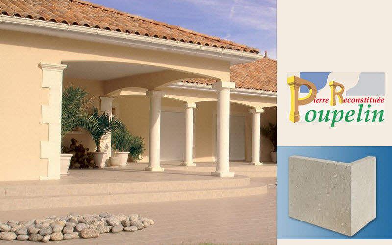 POUPELIN PIERRE RECONSTITUEE Chaîne d'angle Murs extérieurs Murs & Plafonds  |