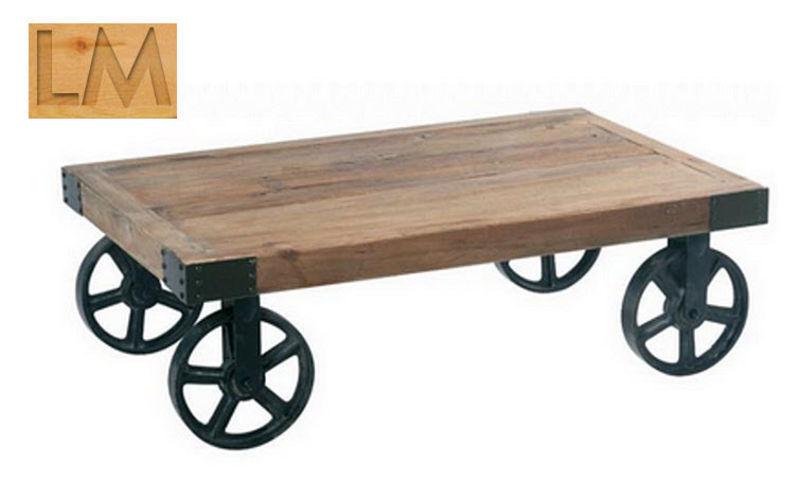 LM Manzoni Table basse à roulettes Tables basses Tables & divers  |