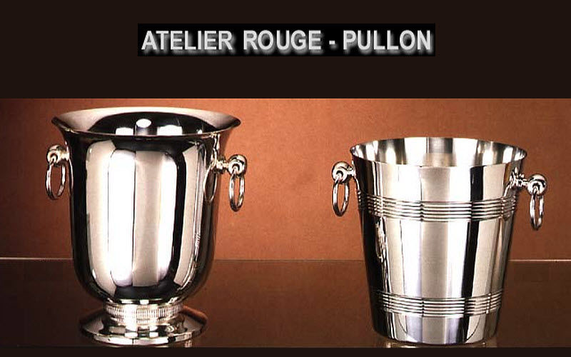 Rouge Pullon Seau à champagne Rafraichir Accessoires de table  |