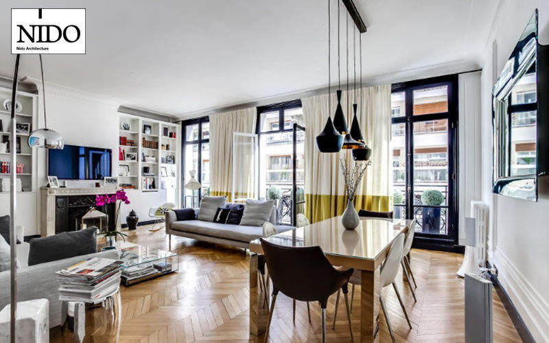 NIDO Réalisation d'architecte d'intérieur Réalisations d'architecte d'intérieur Maisons individuelles  |