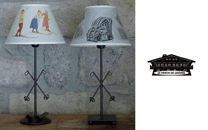 La maison de Gaspard Lampe à poser Lampes Luminaires Intérieur  | Montagne