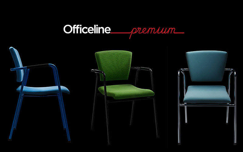 fauteuil visiteur si ges de bureau decofinder. Black Bedroom Furniture Sets. Home Design Ideas